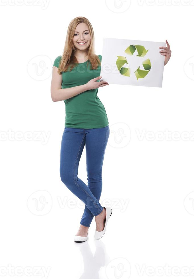 Be green and help our planet photo