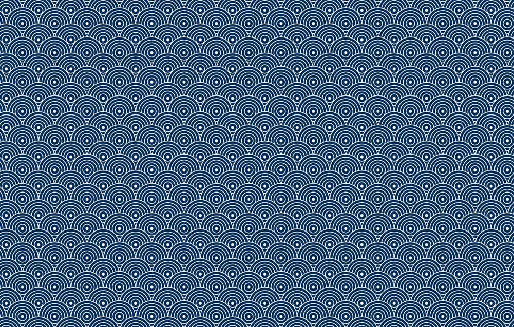 patrón sin costuras de estilo japonés vector