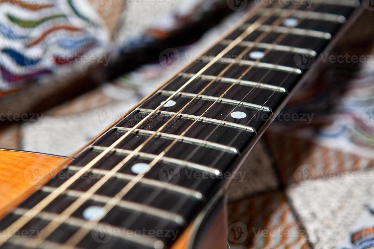 guitar fretboard photo