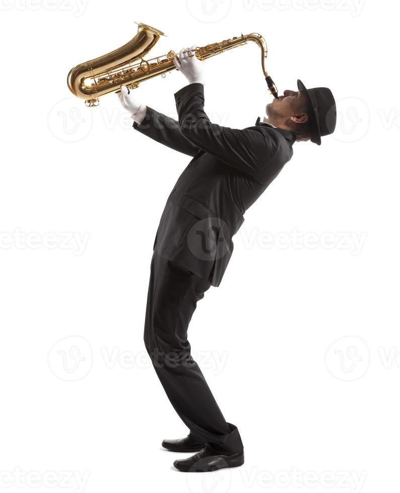 Saxophonist photo