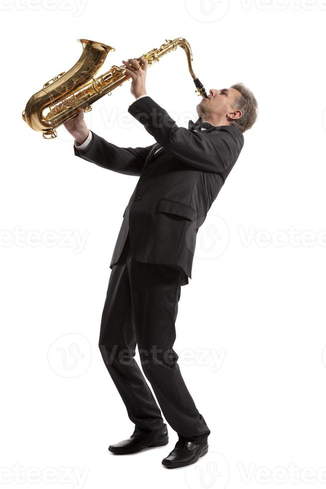 Saxophonist photo