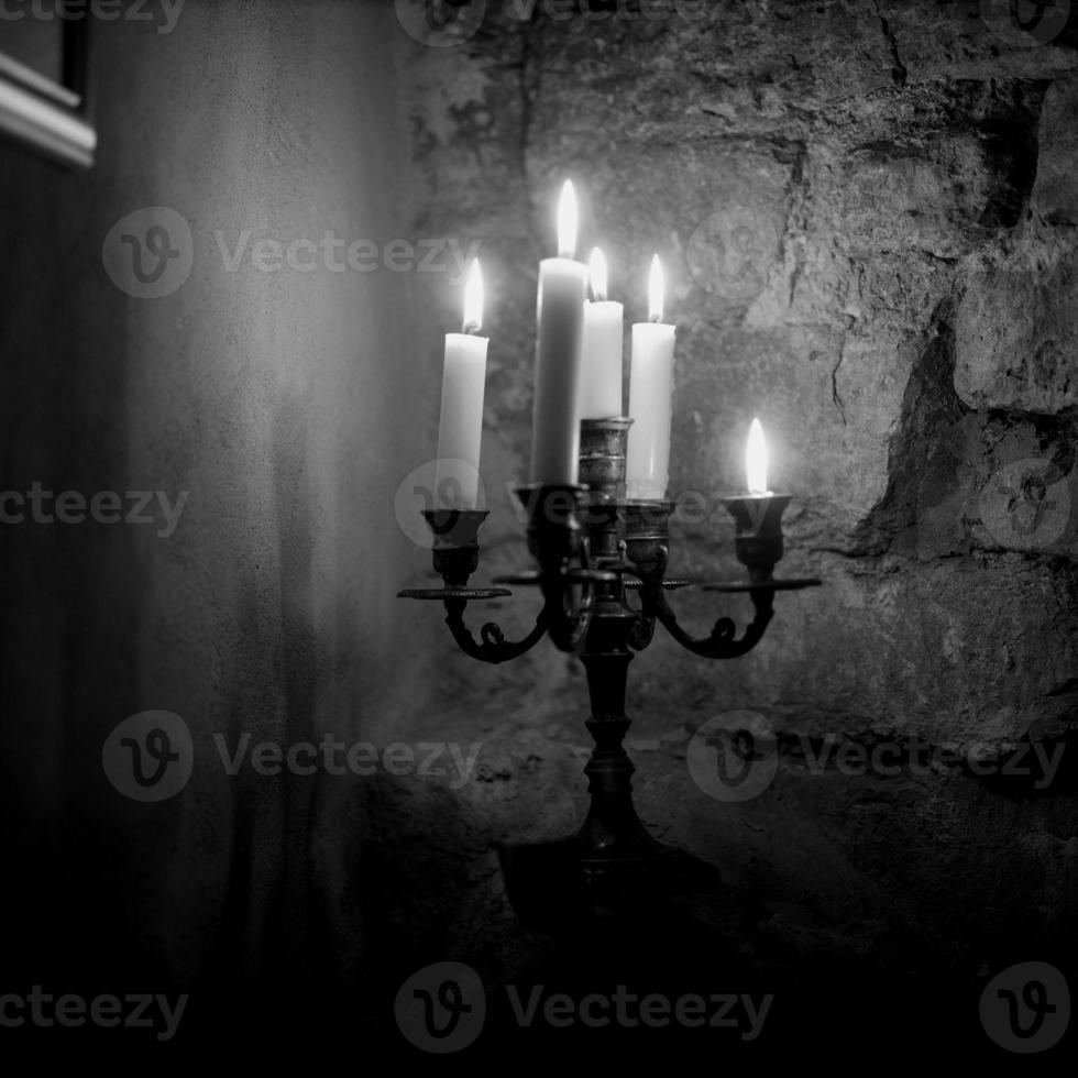 Candle lights photo