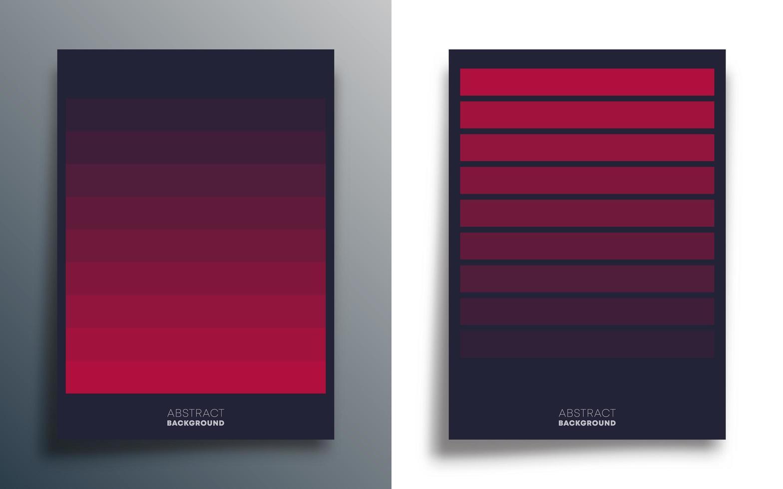 Gradient lines design templates vector