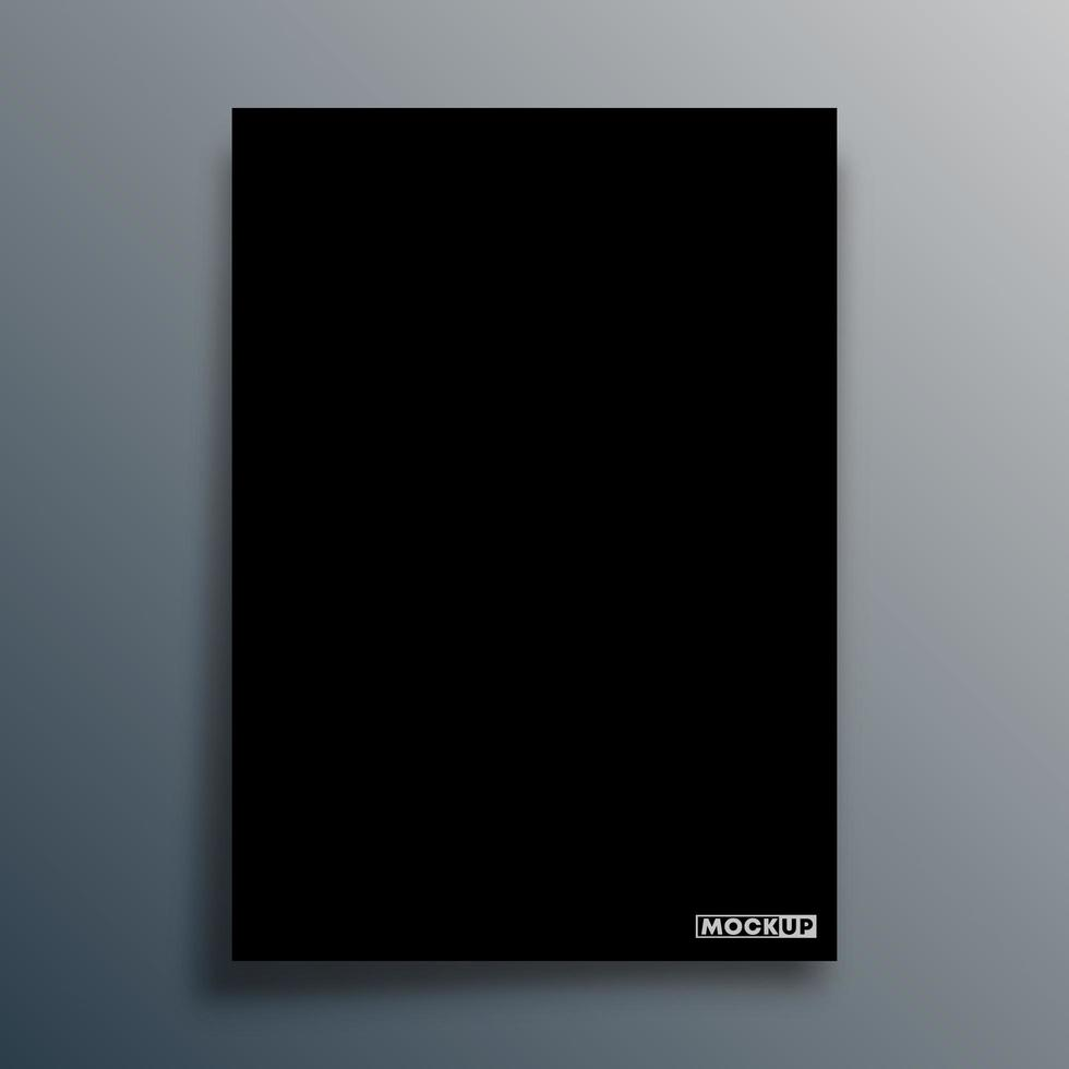 Black background template vector