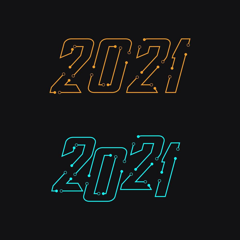 2021 connect the lines set vector