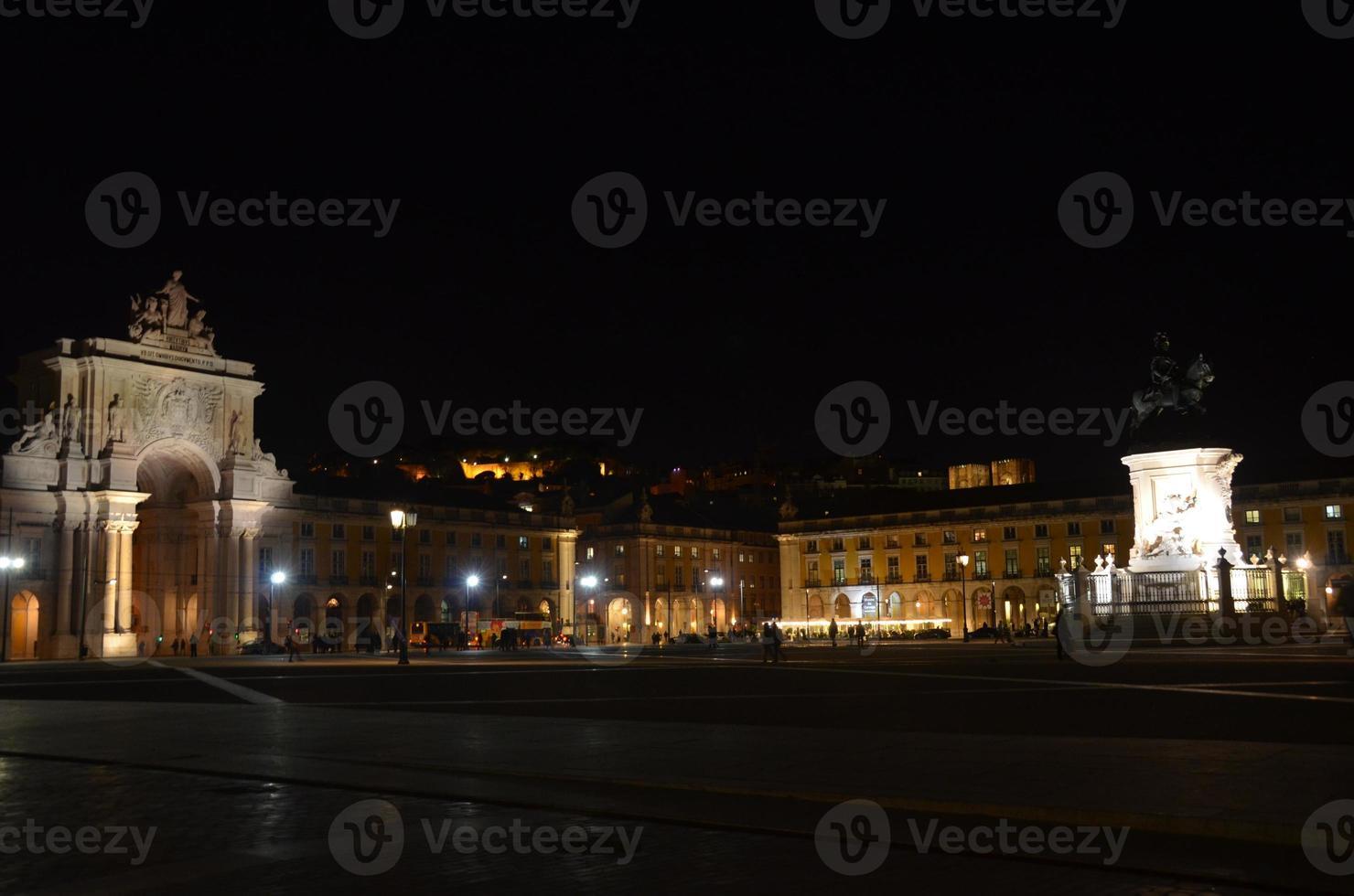 Square at Night photo