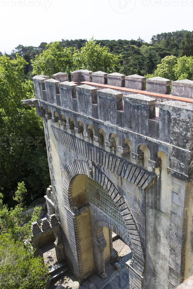 Castle of Pena (Castelo de la Pena) Sintra, Portugal photo