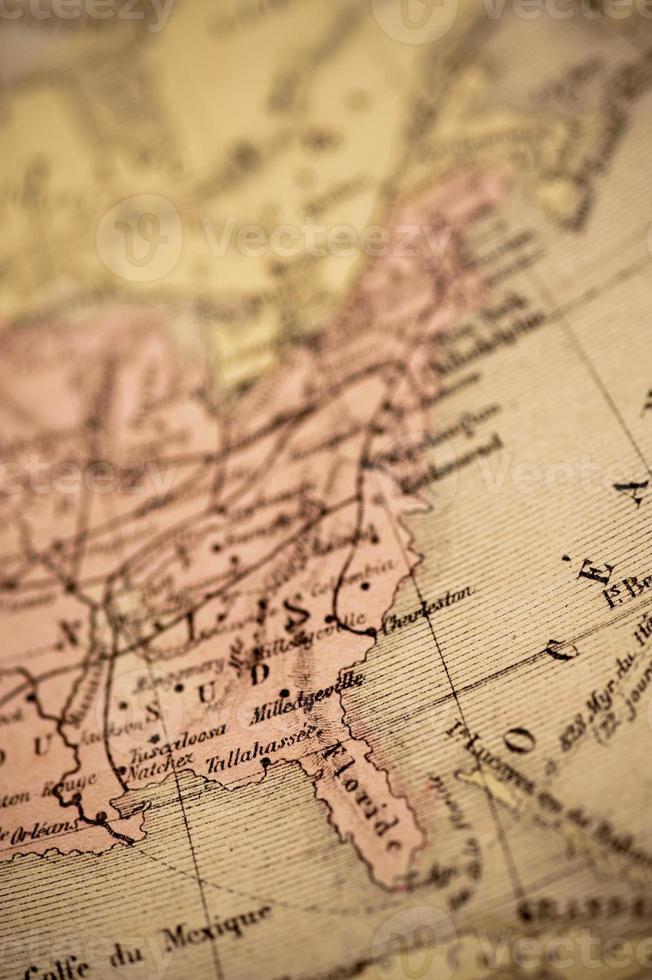 Antique Map | East Coast USA photo