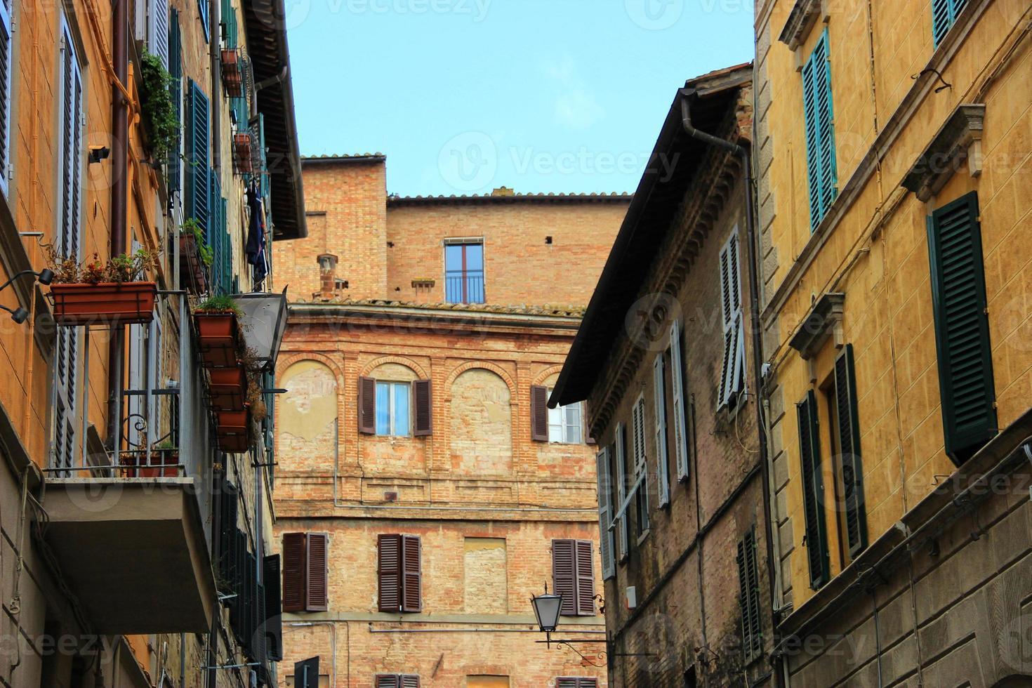 Siena street photo