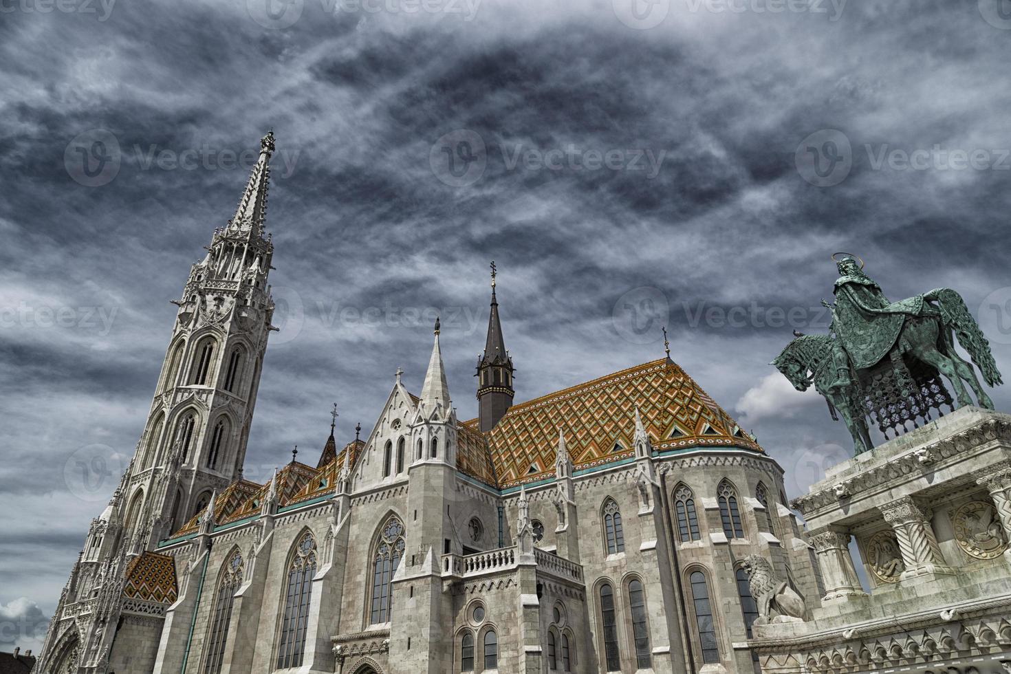 Mathias Church in Budapest photo