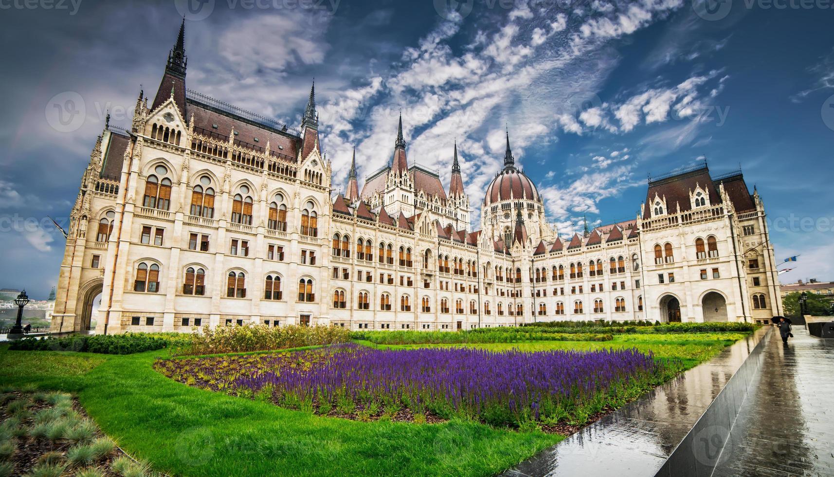 Hungarian Parliament building photo