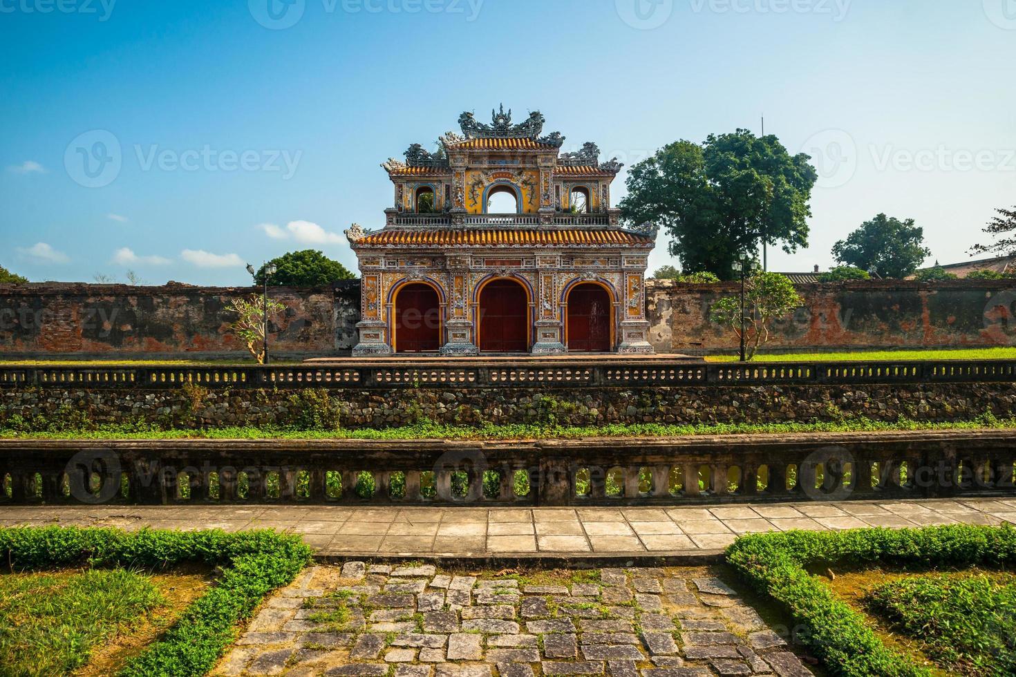 Citadel in Hue photo