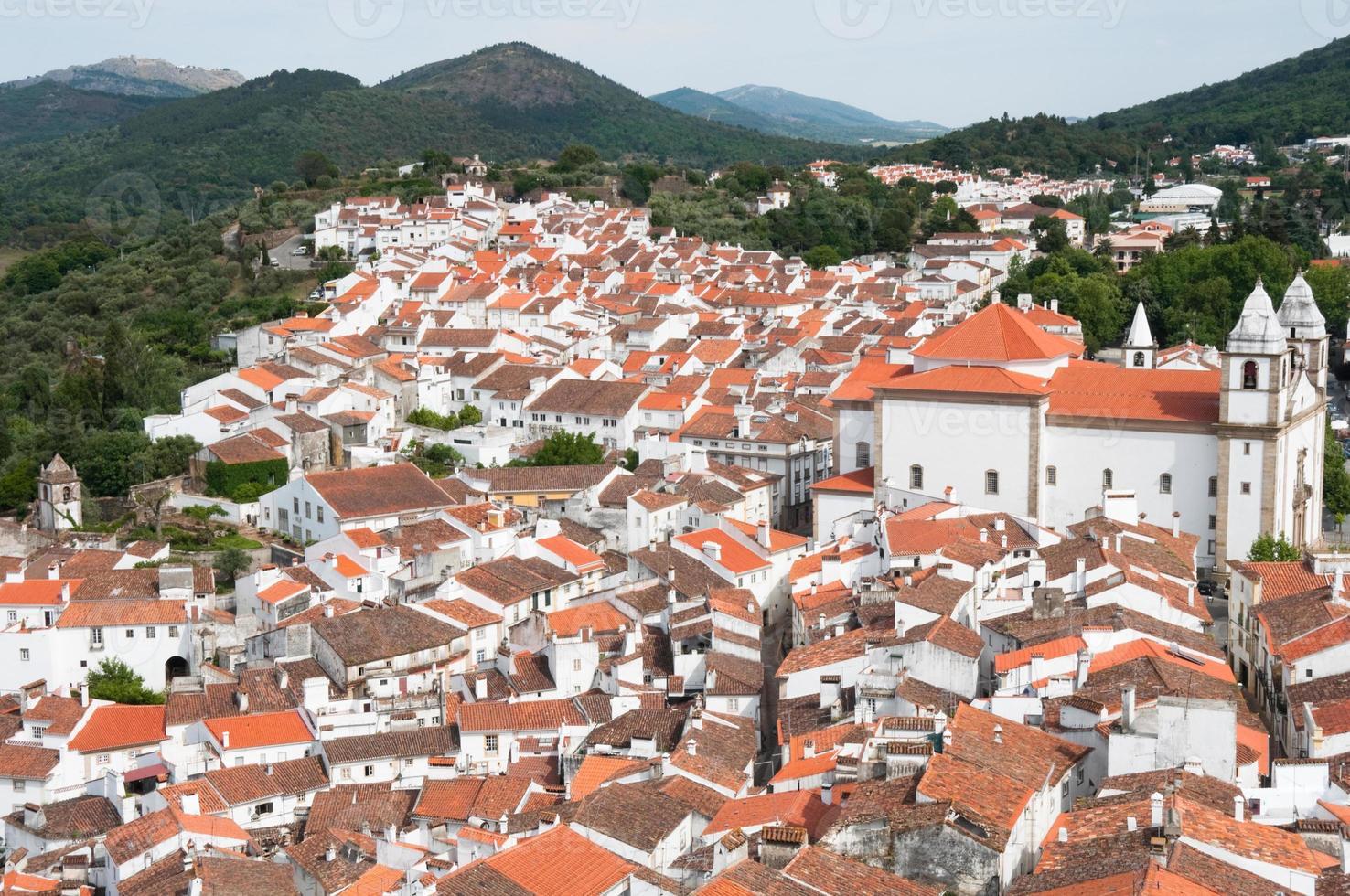 Village of Castelo de Vide (Portugal) Stock Photo
