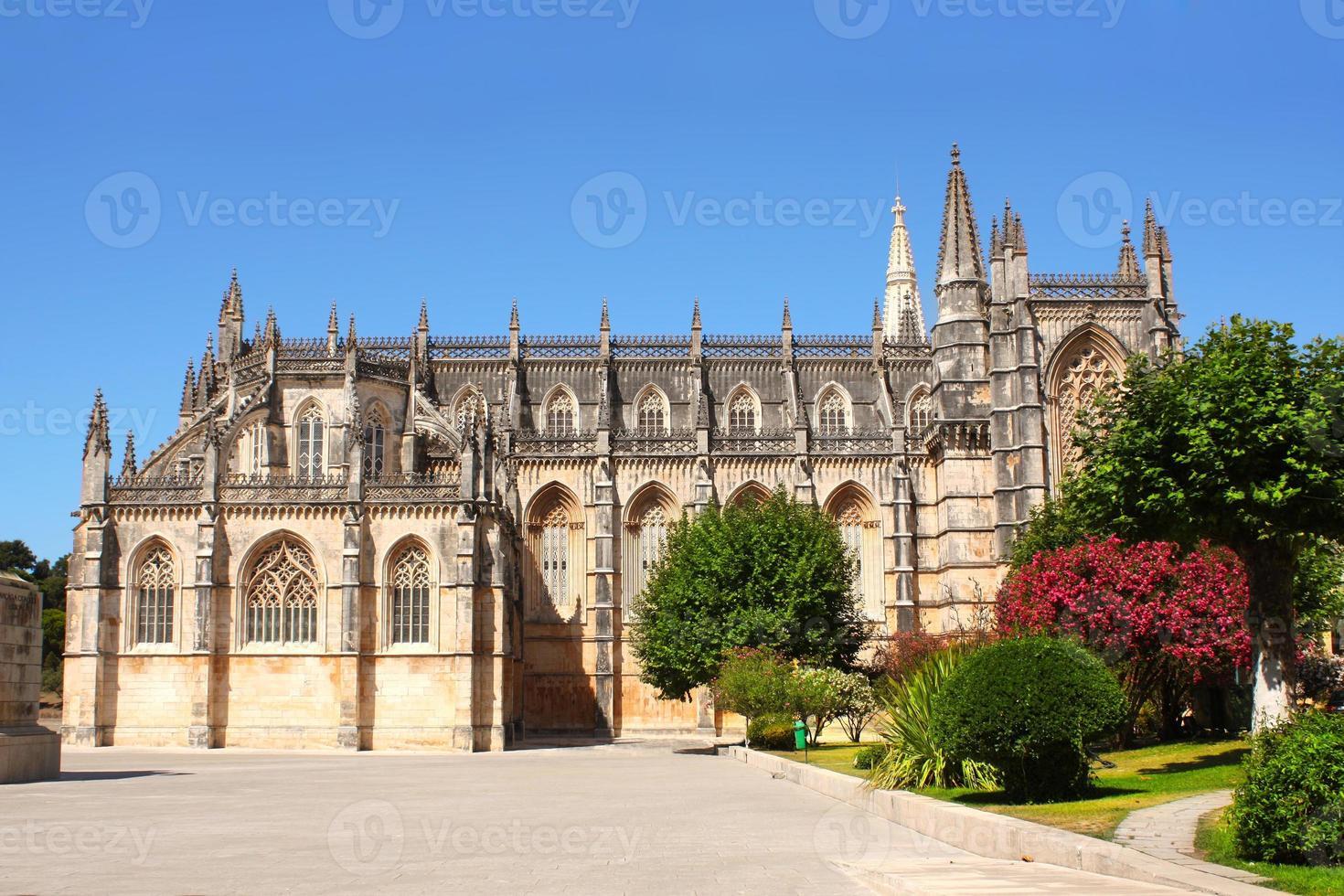 Dominican monastery in Batalha, Portugal photo