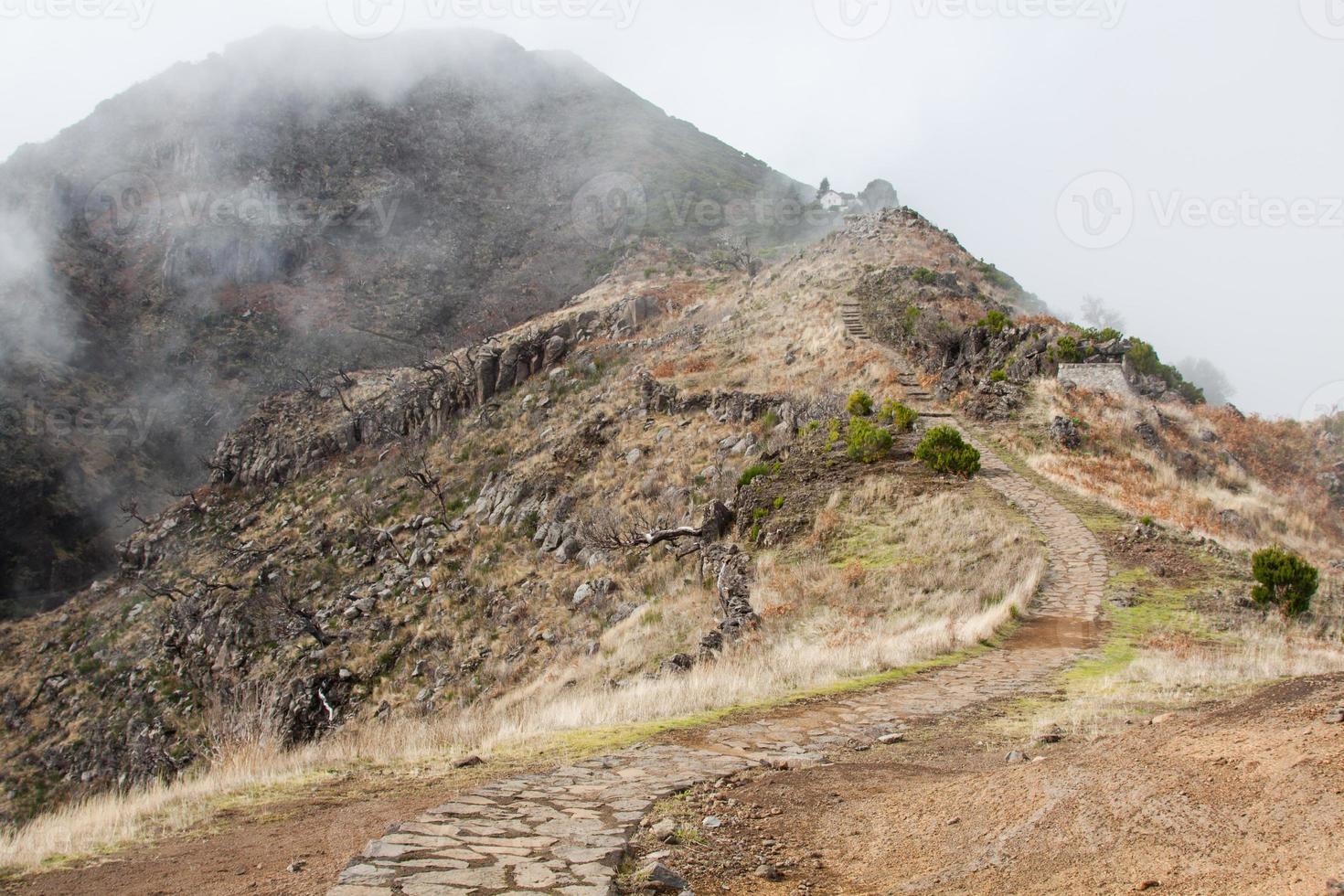 Pico do Arieiro in Madeira Island, Portugal photo