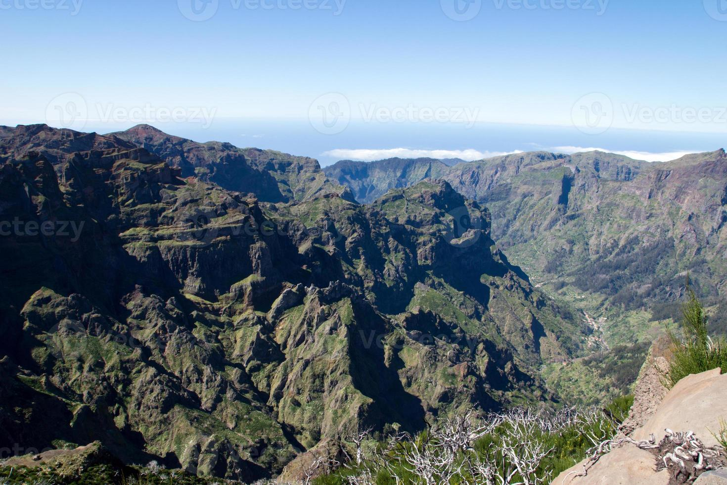 View from Pico Ruivo photo