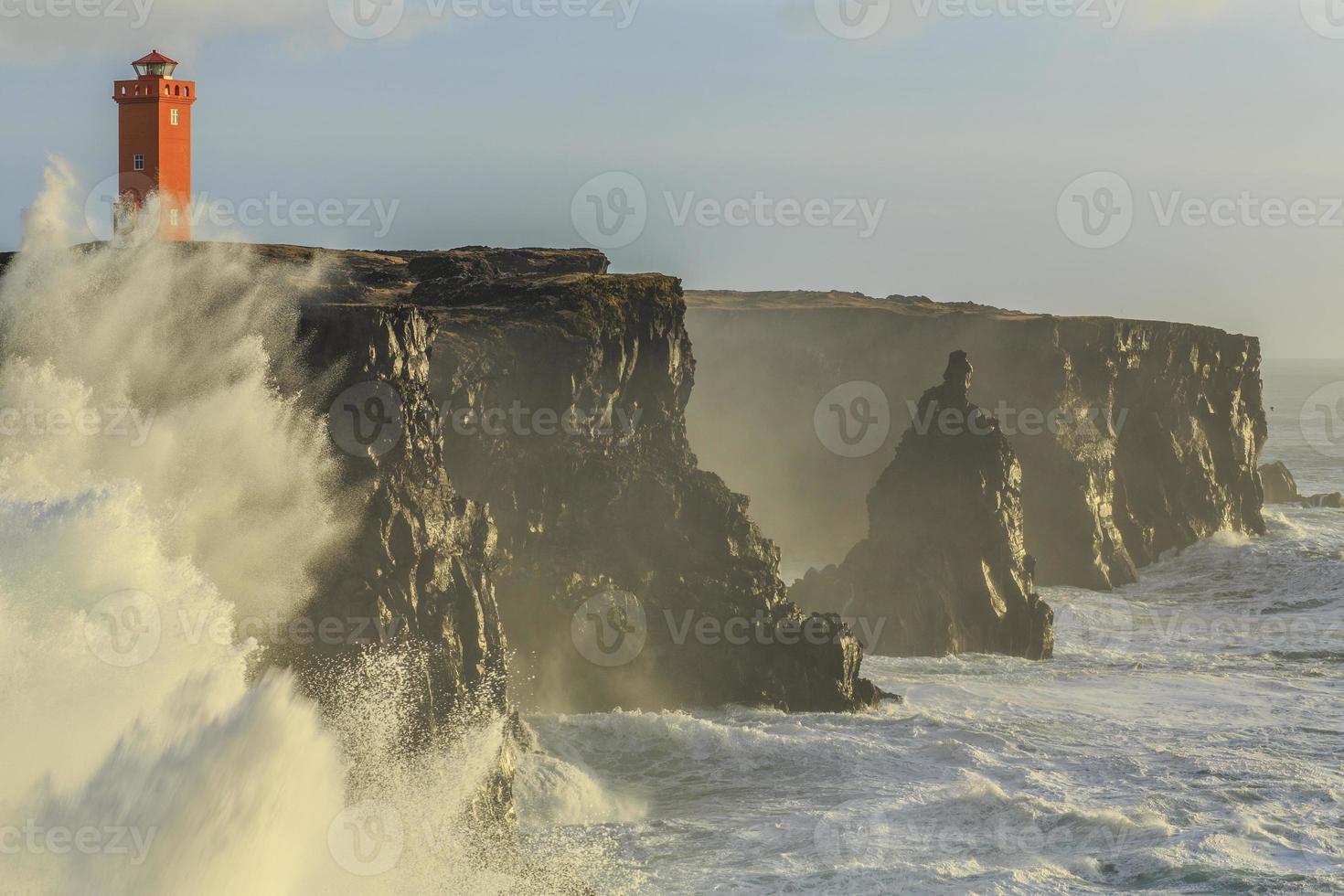 natureza da Islândia foto