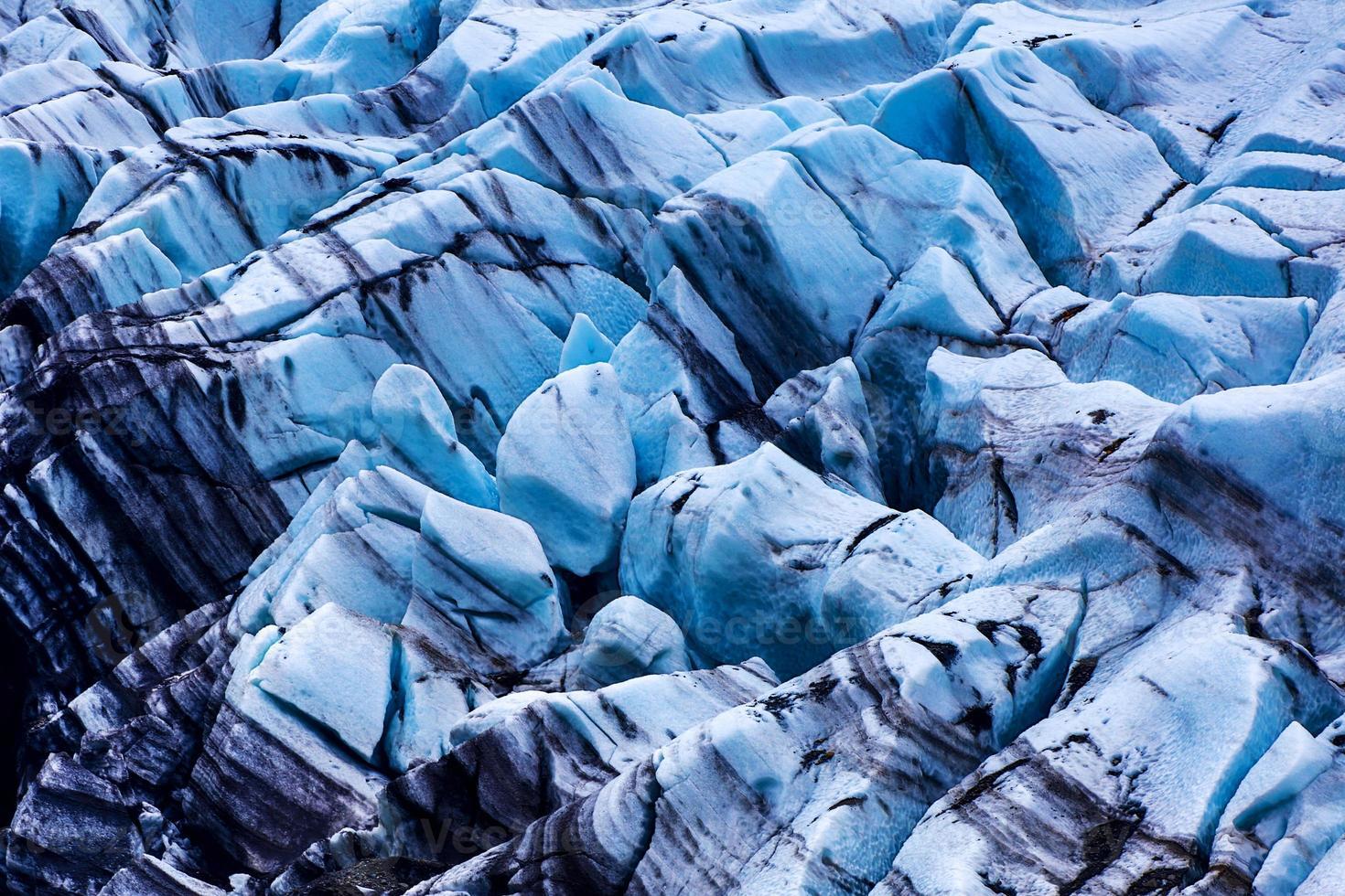 geleira azul na Islândia foto