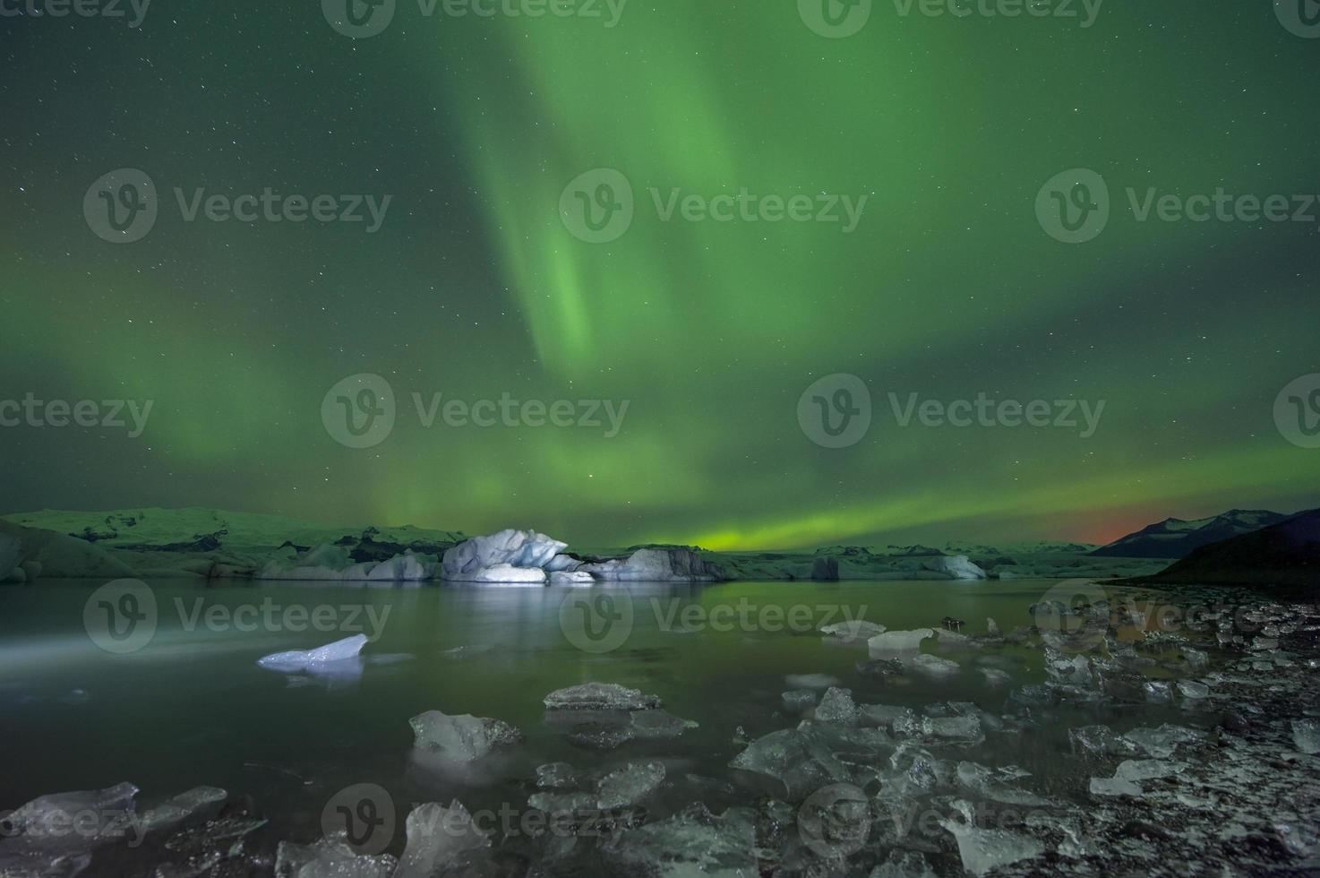 lagoa glacial de jokulsarlon, leste, islândia foto