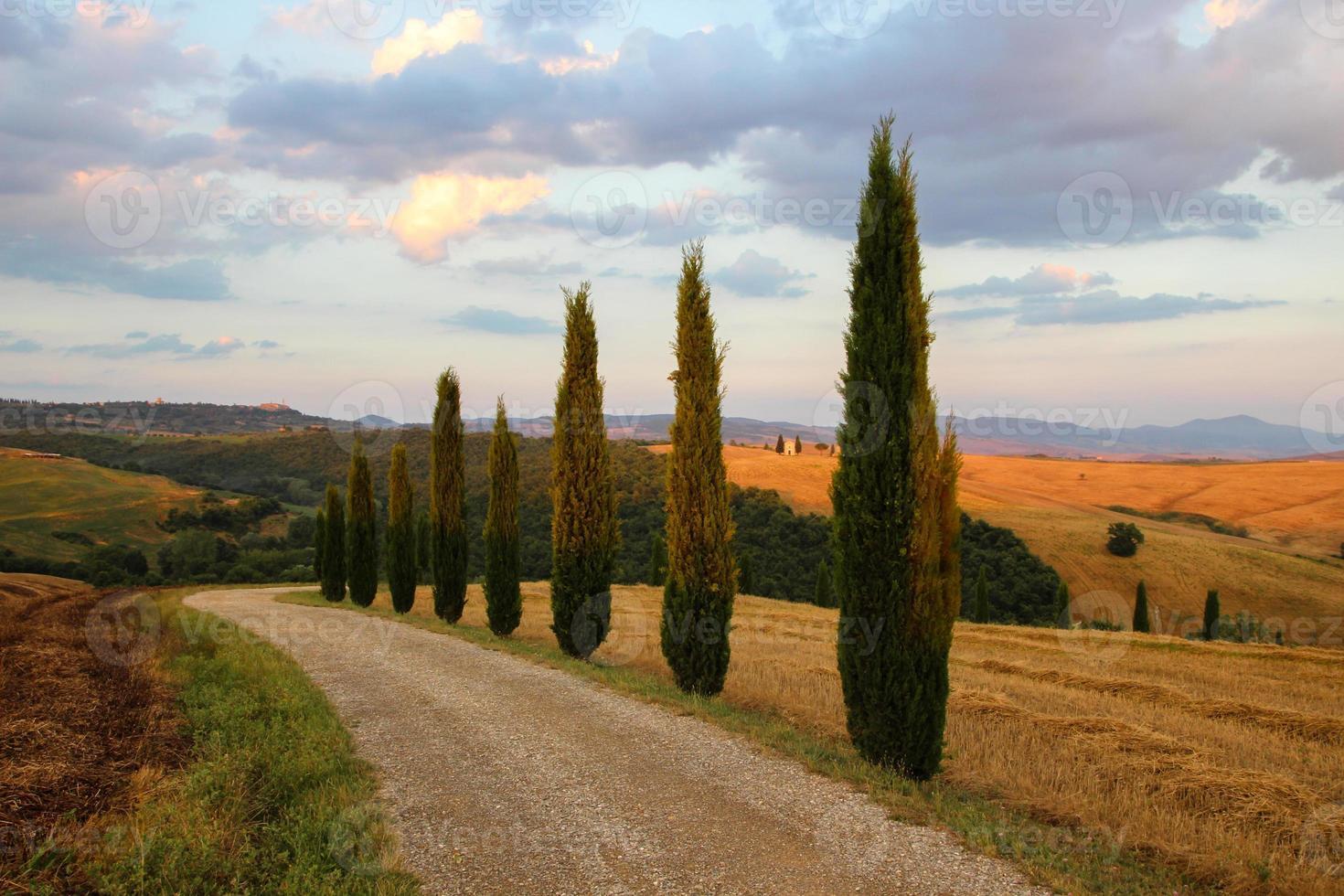 Toscana cerca de pienza foto