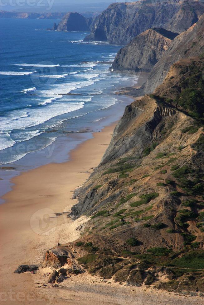 playa cordoama, costa vicentina, portugal. foto