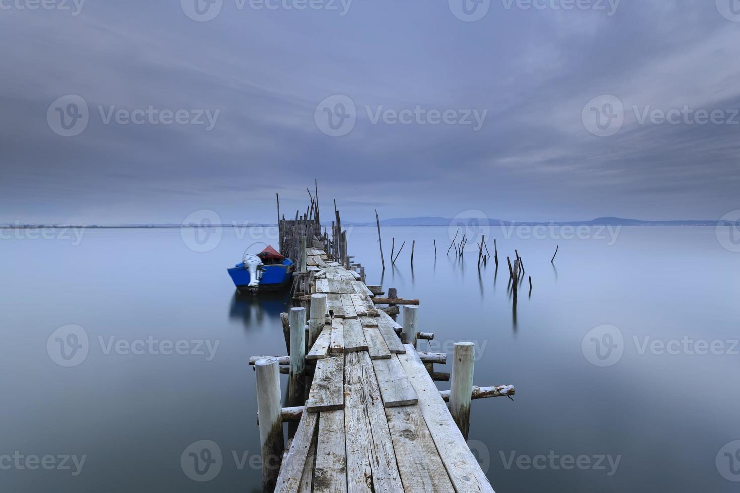 cais de pesca artesanal da carrasqueira foto