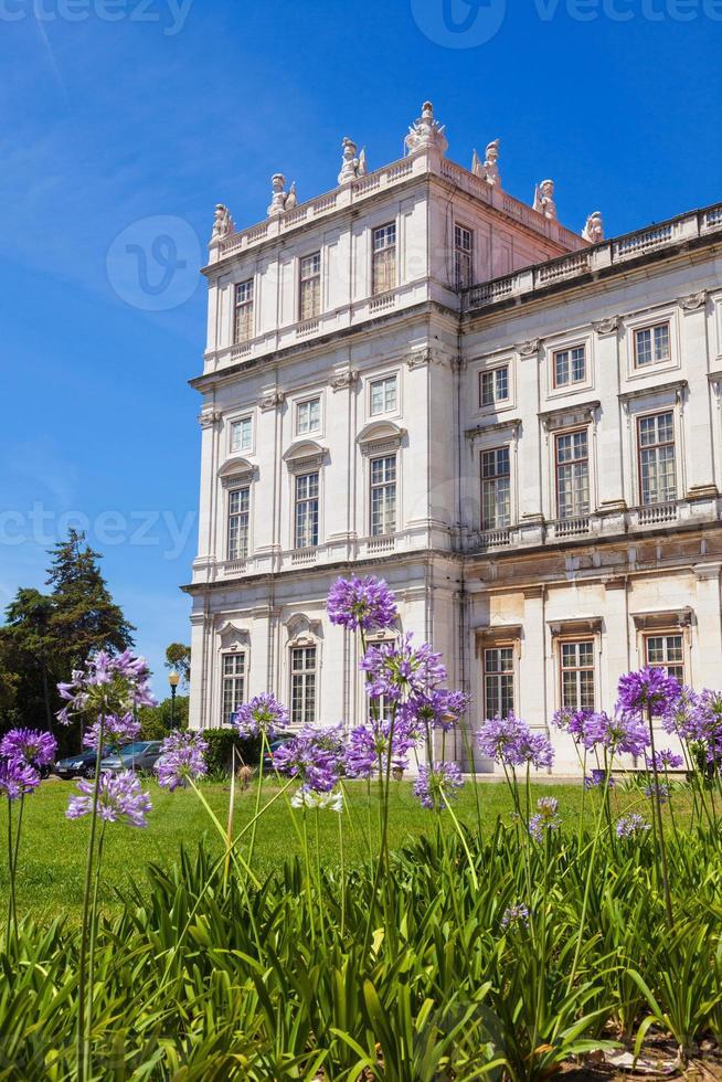 palacio nacional ajuda de lisboa, portugal foto