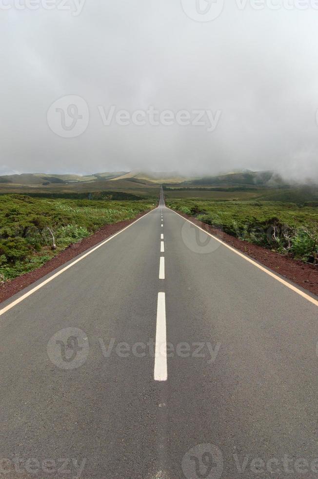 camino entre los volcanes foto