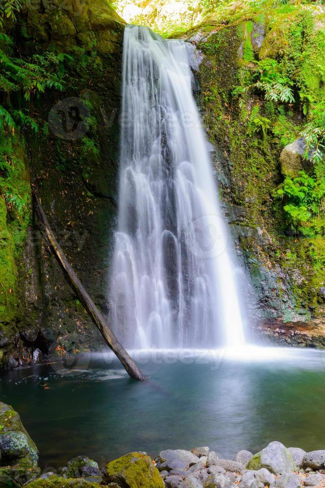 Waterfall at Sao Miguel Island, Azores, Europe photo