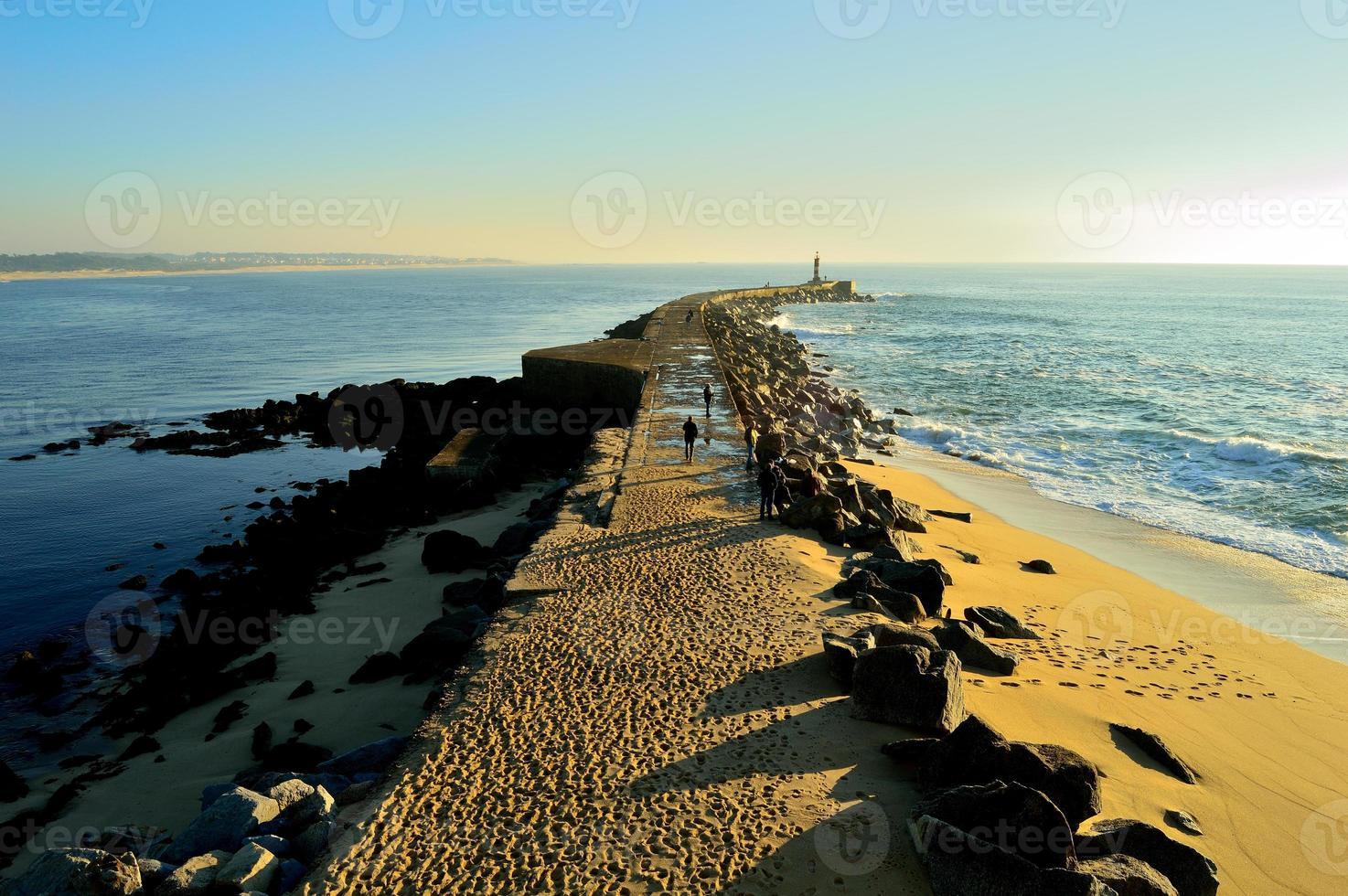 Infinite pier photo