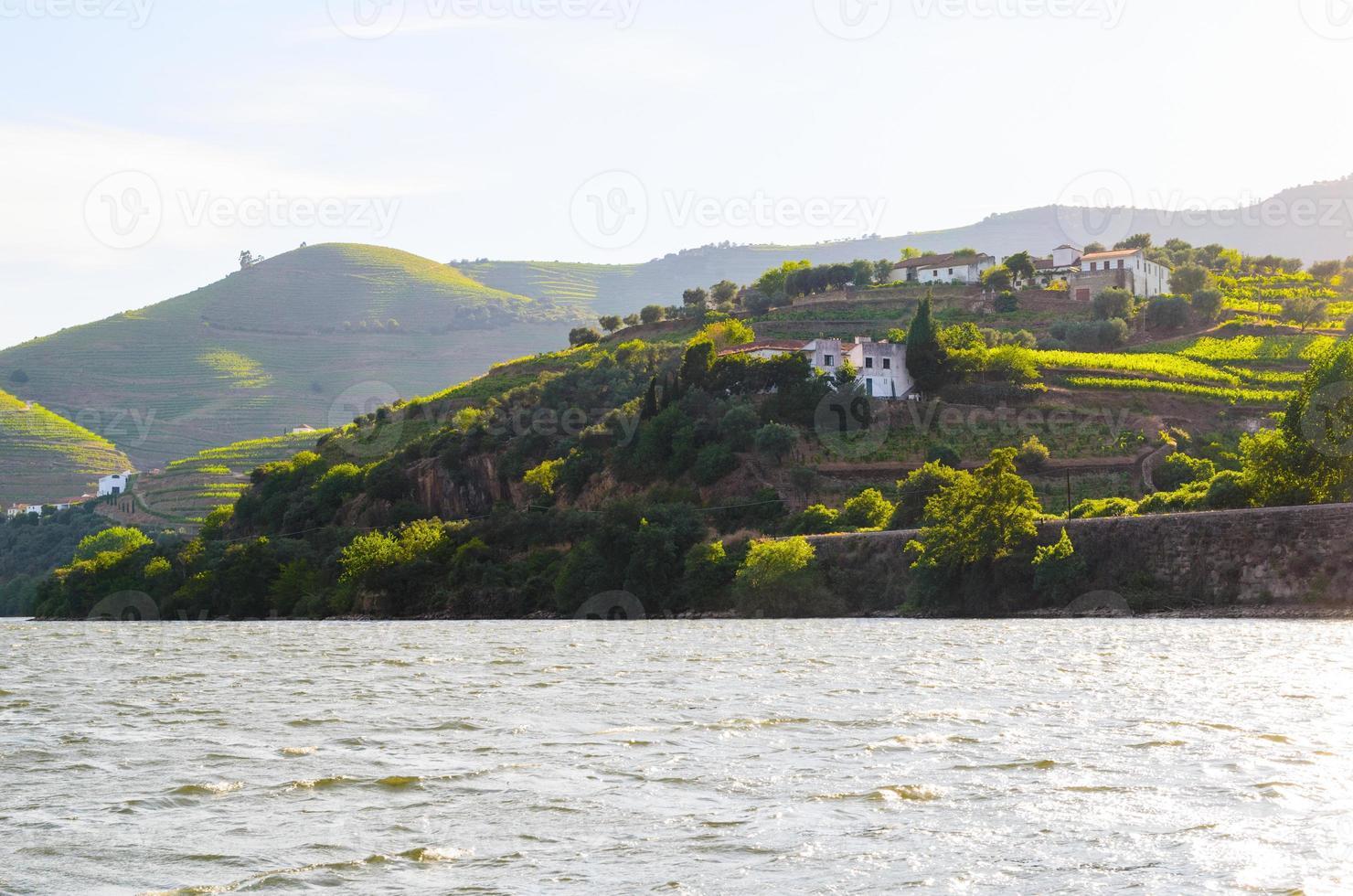 Valle del río Duero, Portugal foto