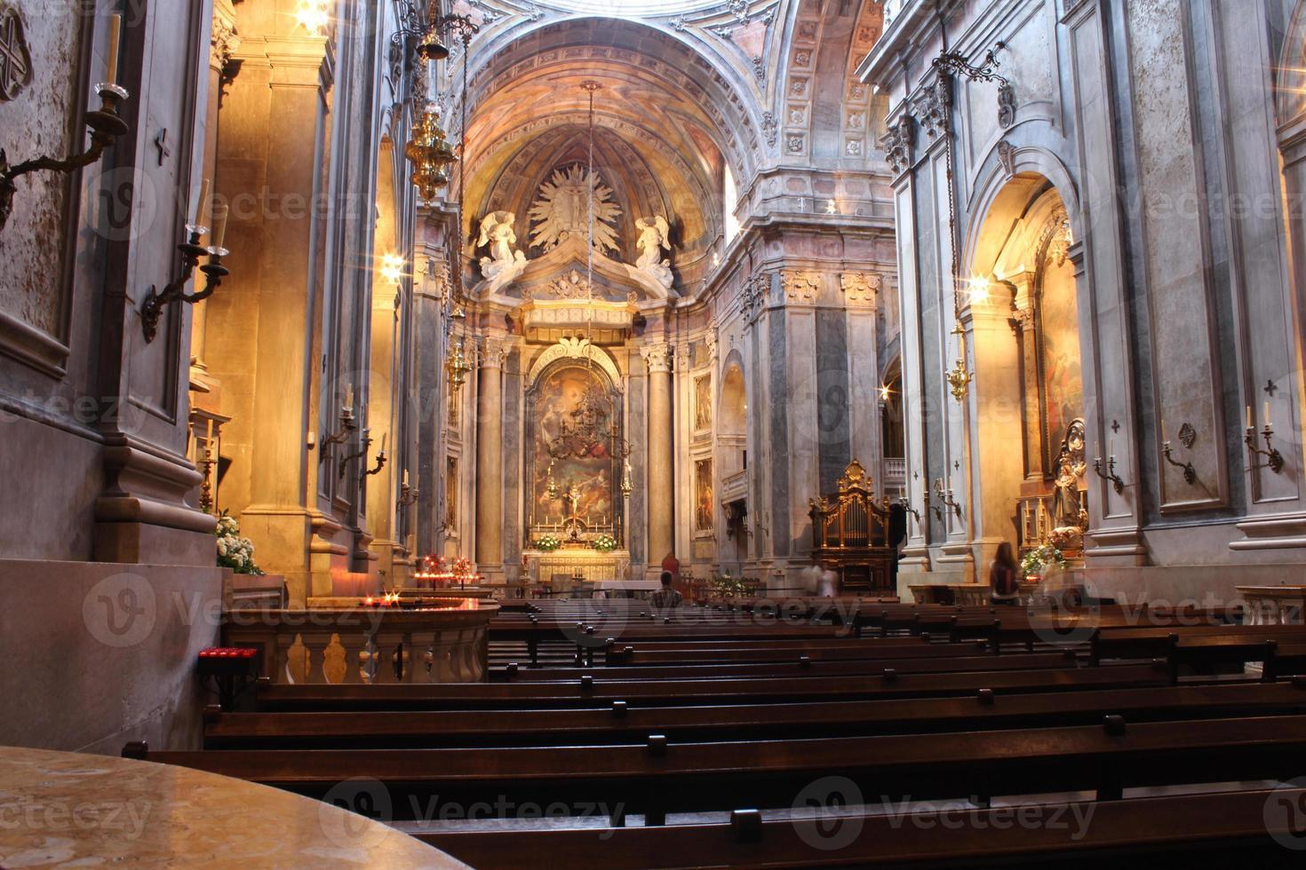 Lisbon Church, Portugal photo