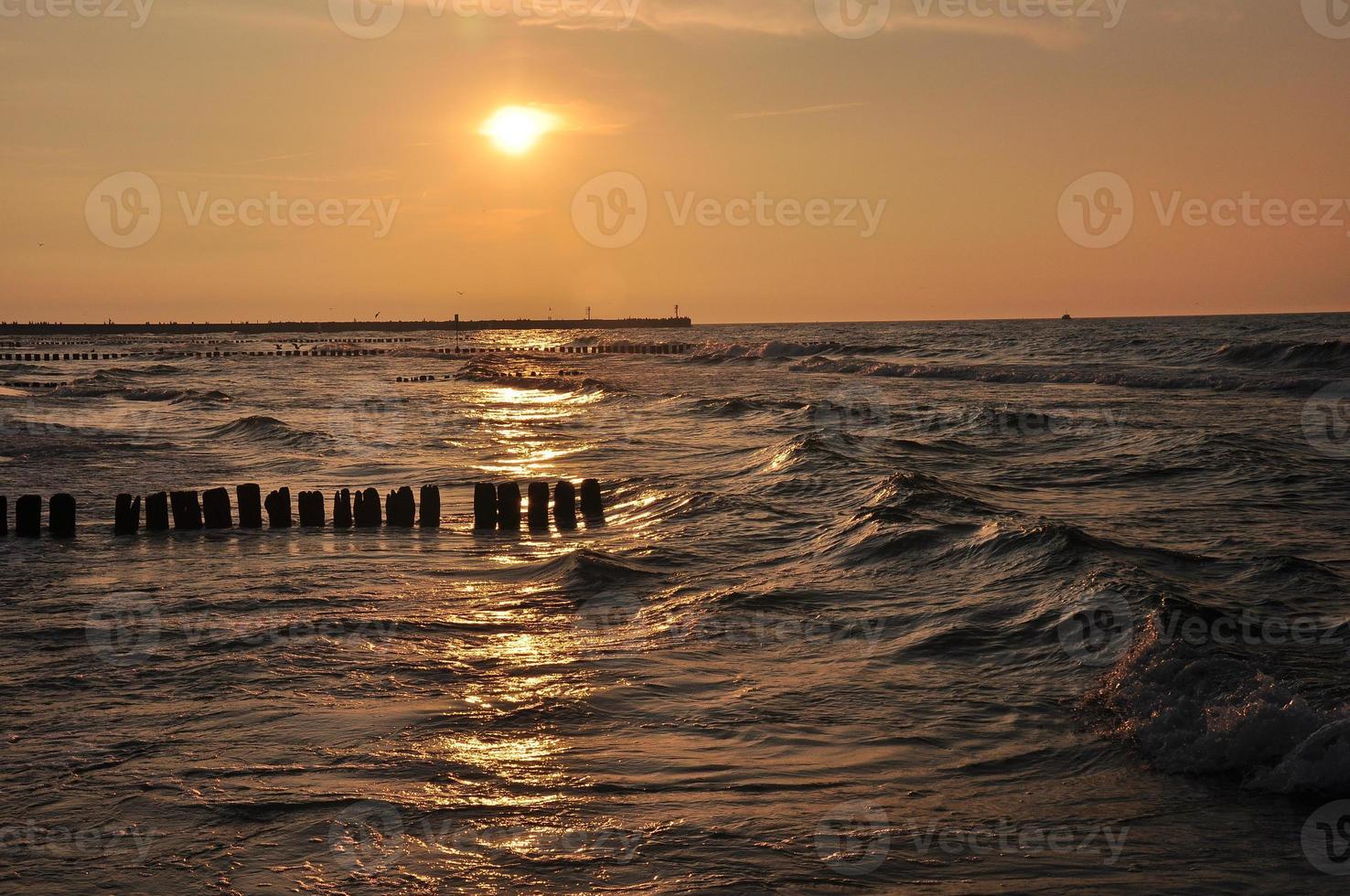 zachód słońca foto