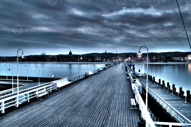 Pier in sopot photo