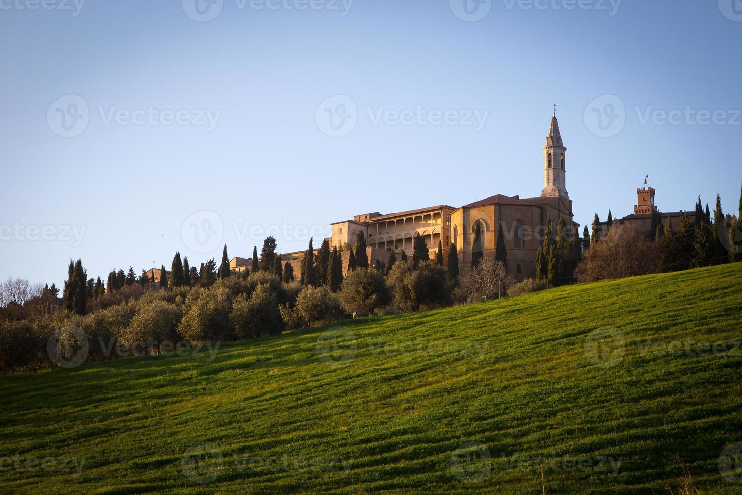 Pienza in Val d'Orcia, Tuscany photo
