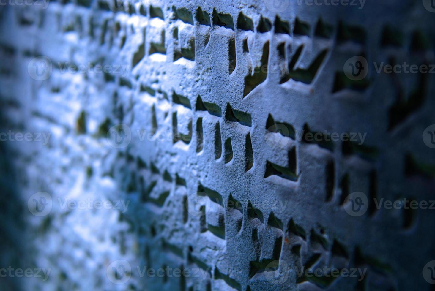 antigo cemitério judaico em ozarow. Polônia foto