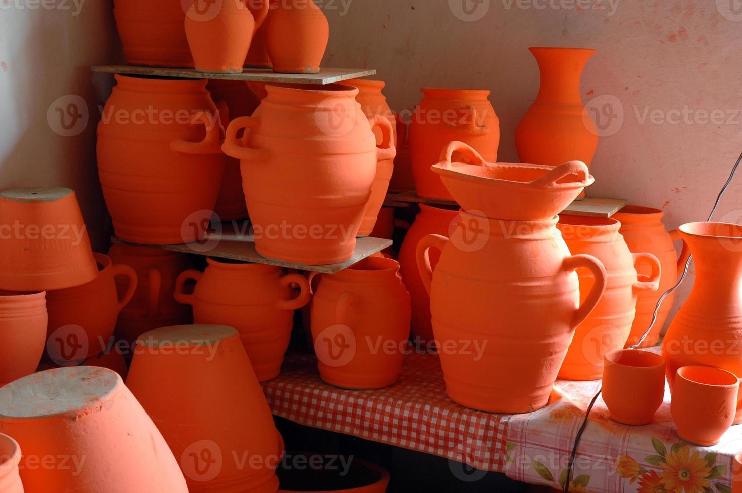 cerámica tradicional polaca foto
