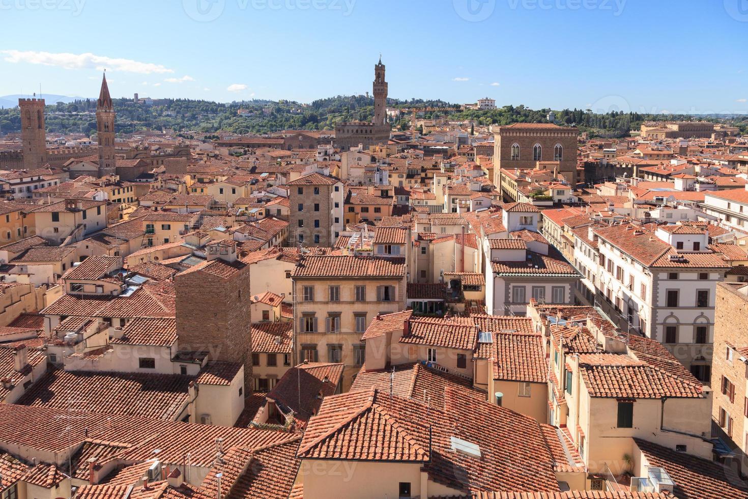 ciudad de florencia, italia foto