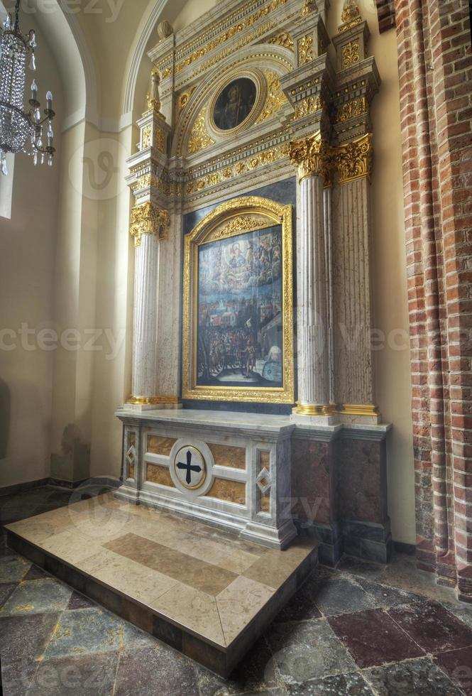 Chapel of St. Martin in the Cathedral in Poznan, Poland photo