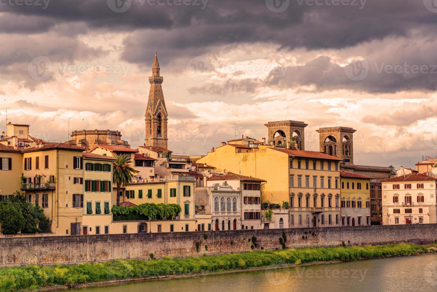 Embankment in Florence photo