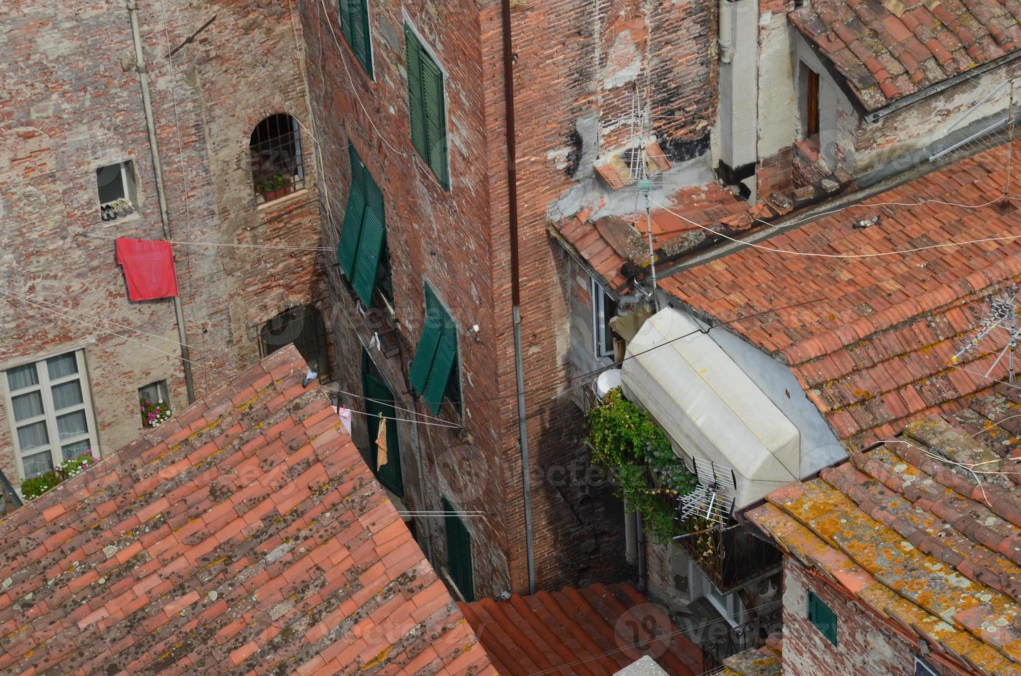 los viejos techos. foto