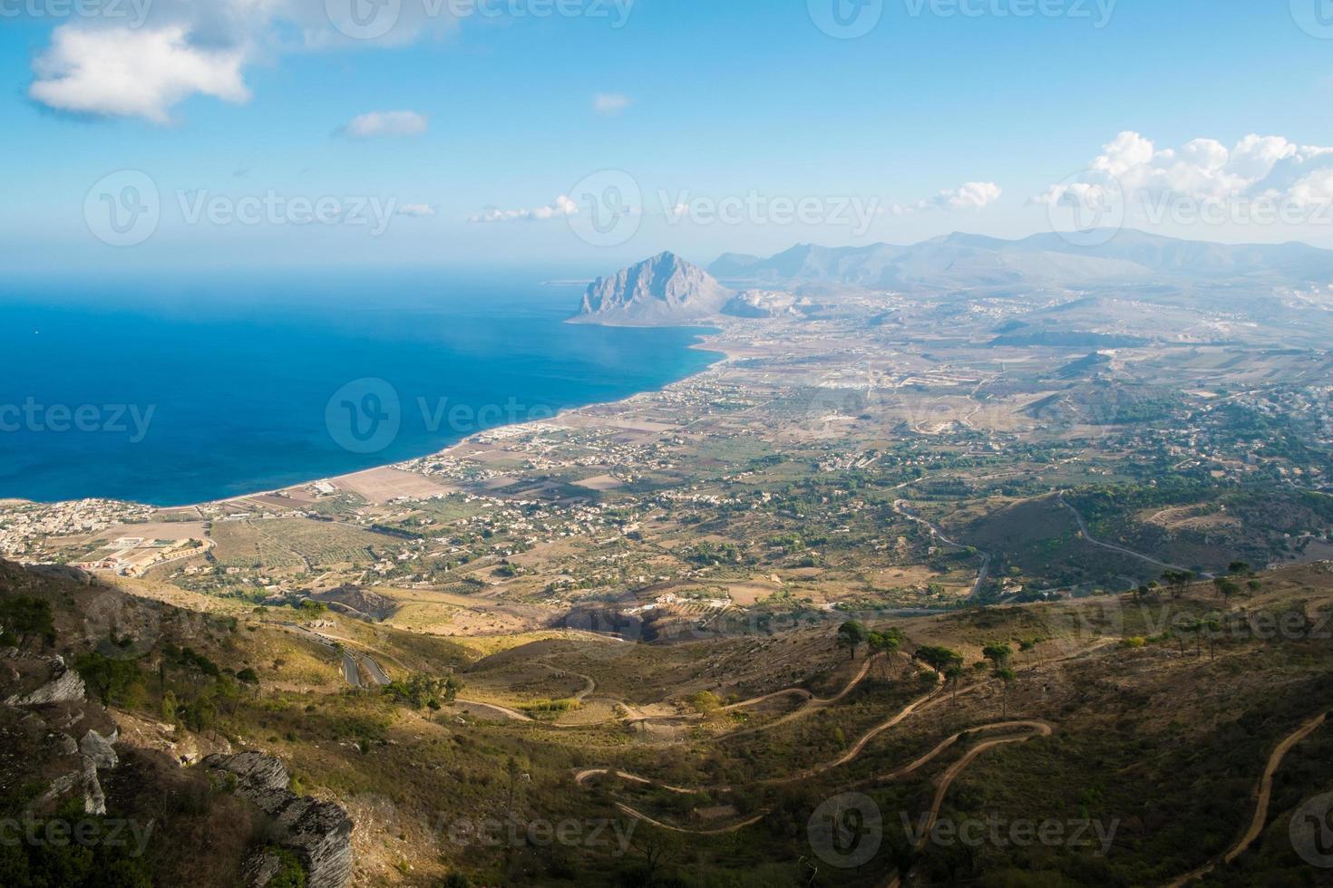 costa da Sicília foto