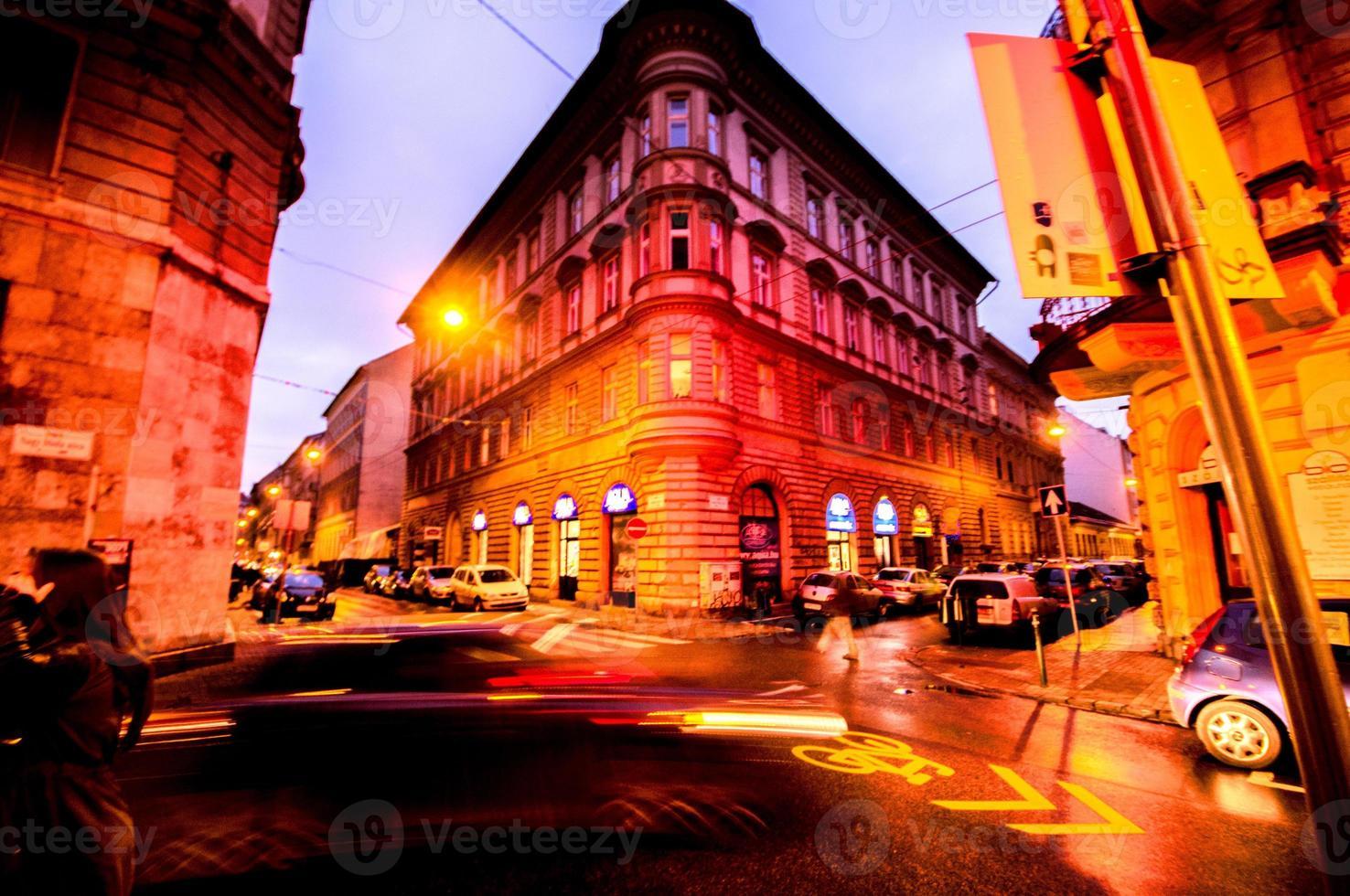 Budapest por la noche foto