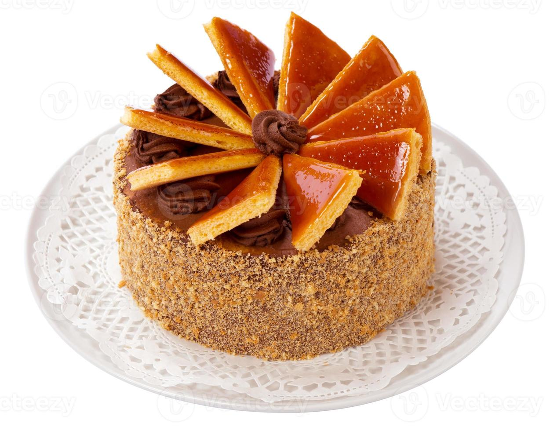 torta dobos húngara - torta foto