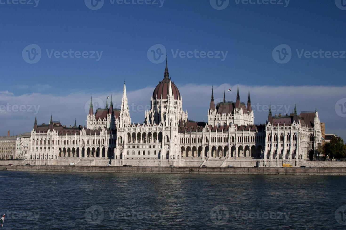 parlamento en budapest foto
