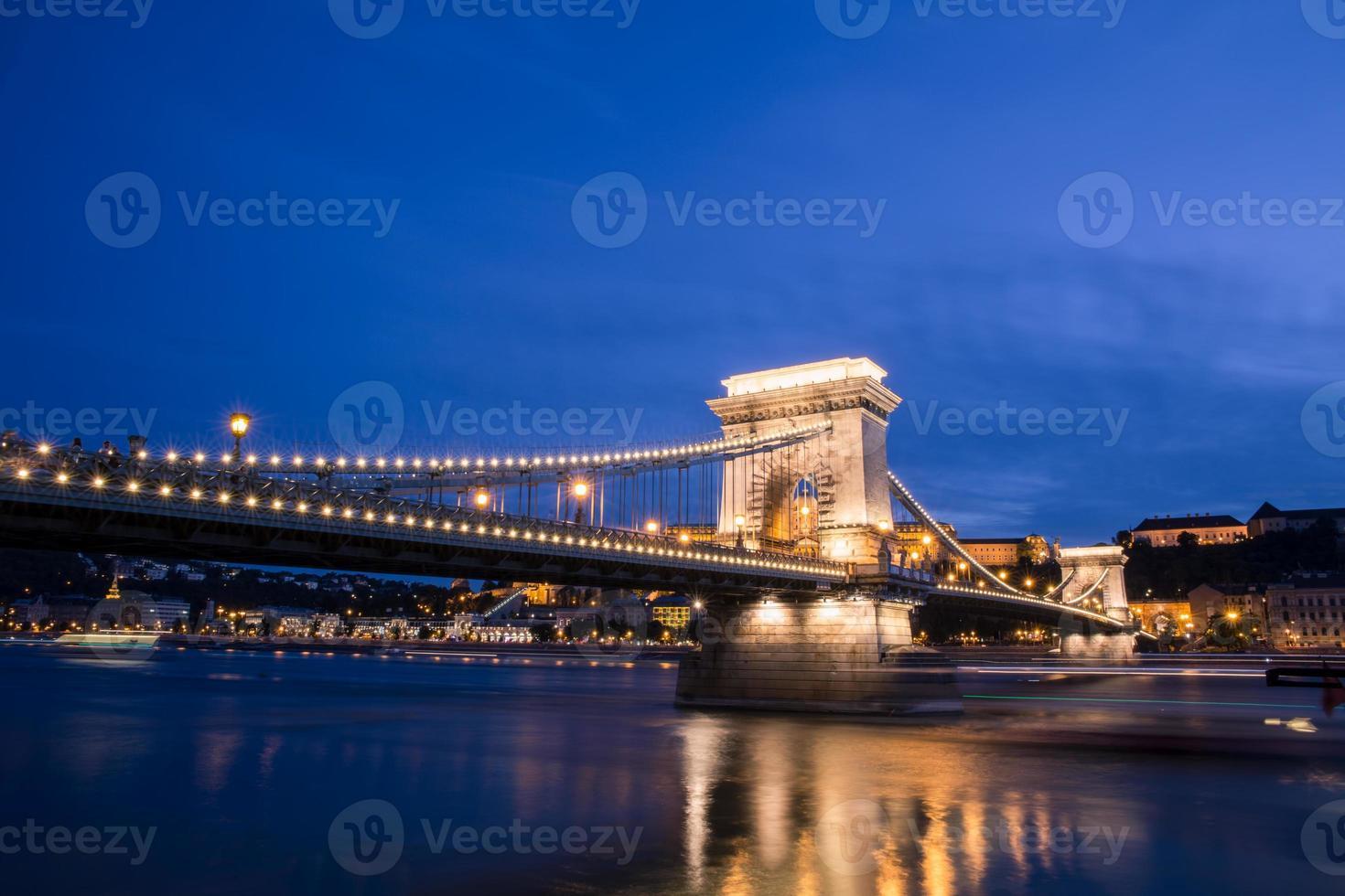 hitos húngaros en el danubio foto