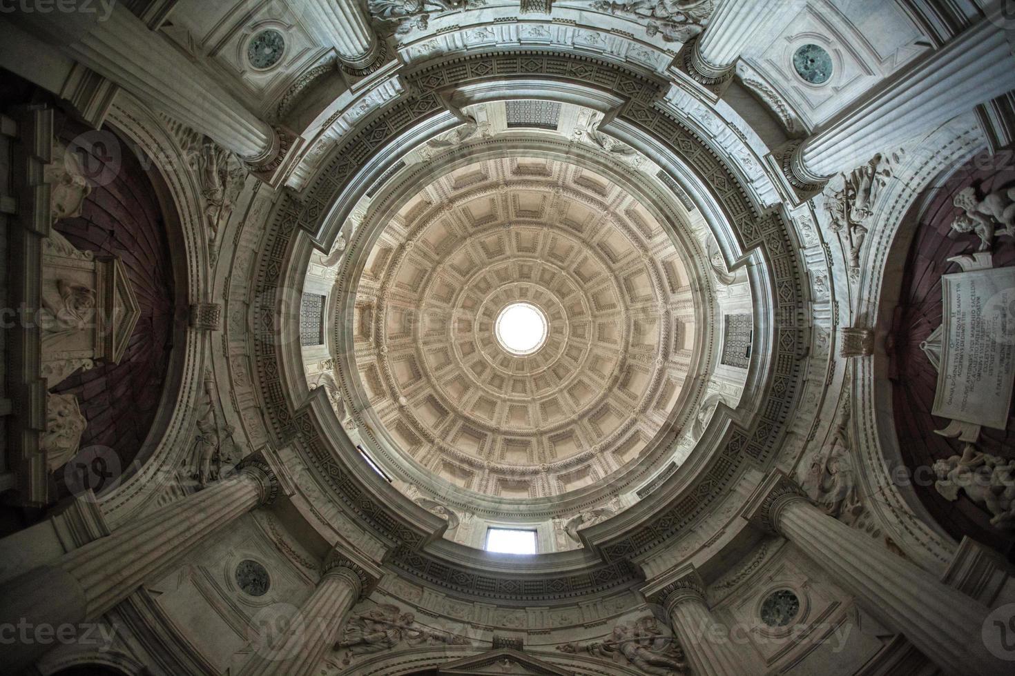 cúpula cappella caracciolo chiesa san giovanni a carbonara napol foto