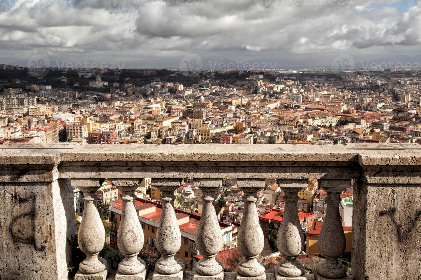 Nápoles, paisaje de San Martín foto