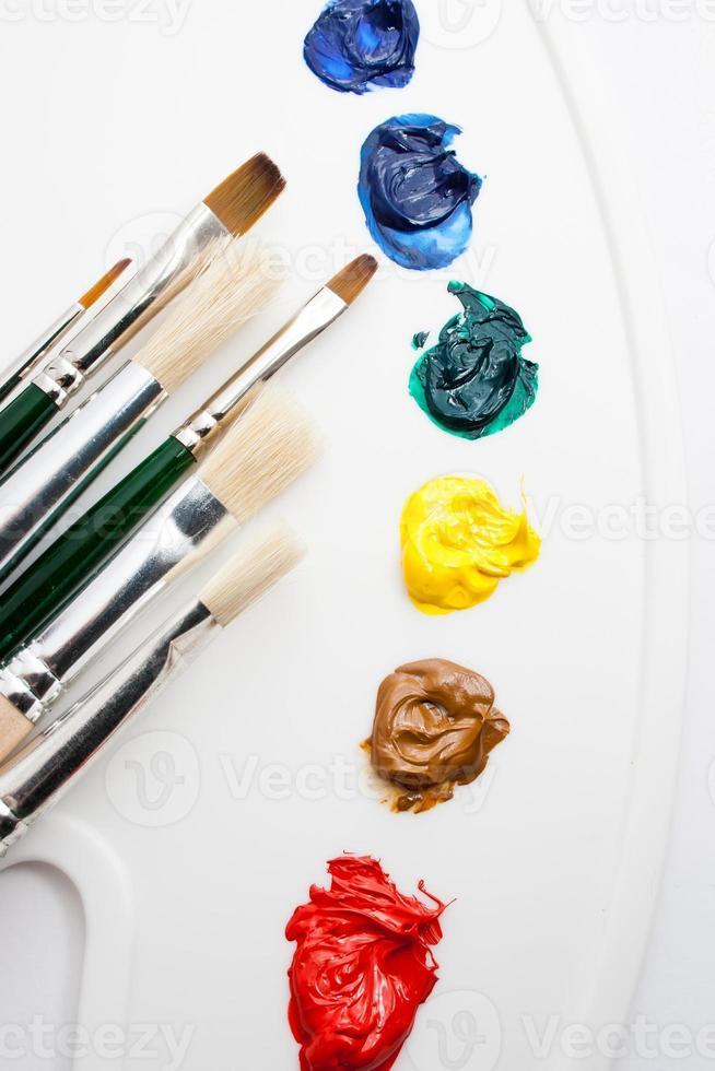 Cepillo de pintura foto