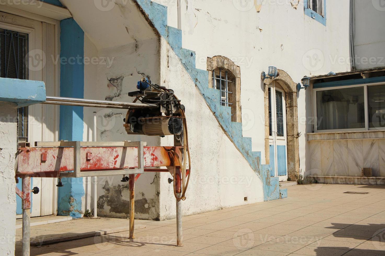 renovation of building crete photo